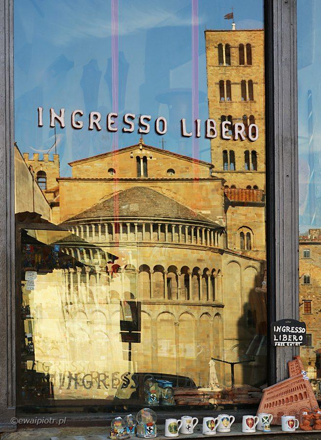 Wstęp wolny. Arezzo, Toskania