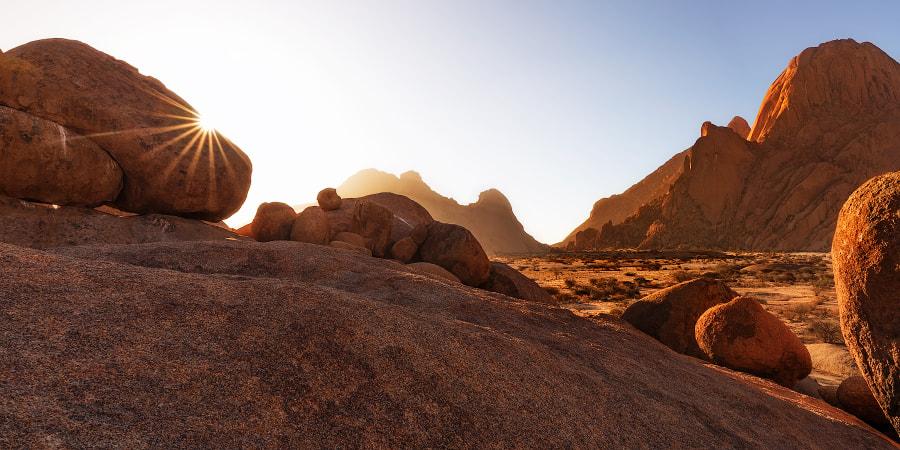 Skaliste pustkowie Spitzkopp, fotowyprawa do Namibii