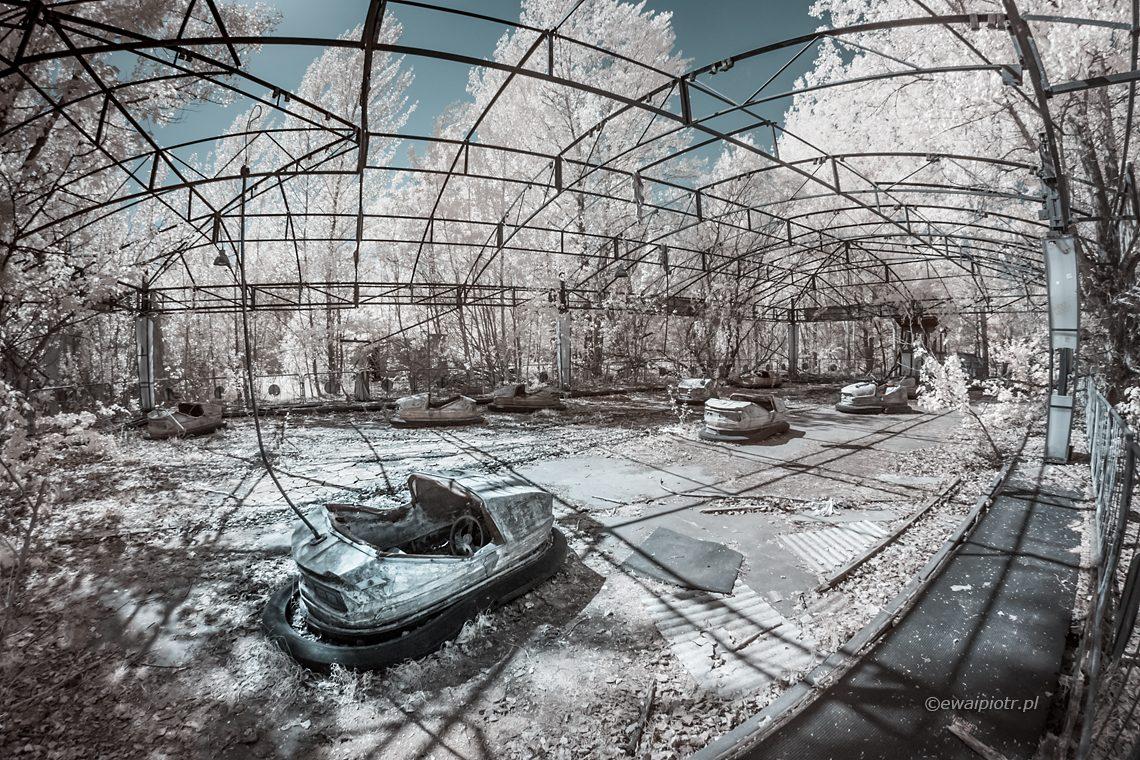 Czarnobyl i Prypeć fotowyprawa, zdjęcia podczerwone