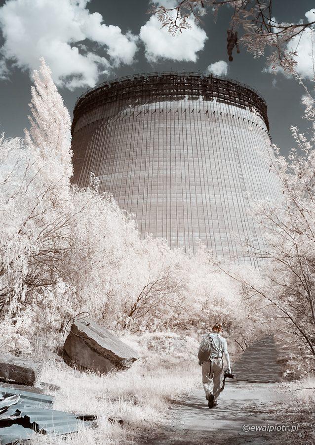 Kolektor cieplny w IR, podczerwień, fotowyprawa Czarnobyl i Prypeć