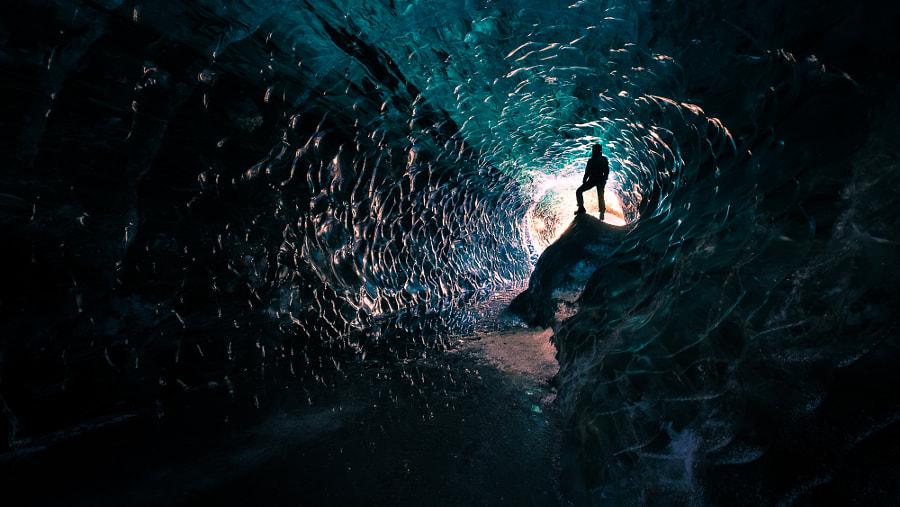 Lodowa jaskinia, fotowyprawa Islandia zima, fot. Giuseppe Milo