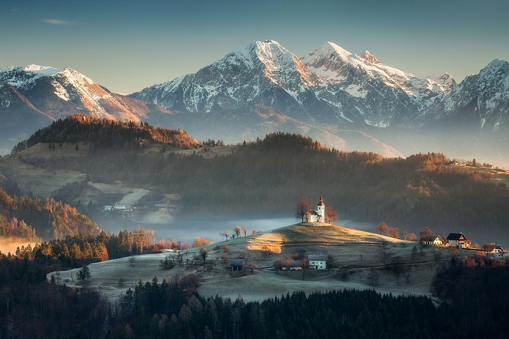 Słowenia, Alpy, fotowyprawa do Słowenii, kapliczka