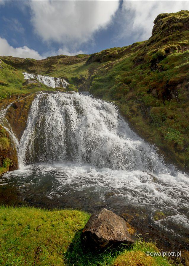 Selvallafoss, wodospad, Islandia, fotowyprawa