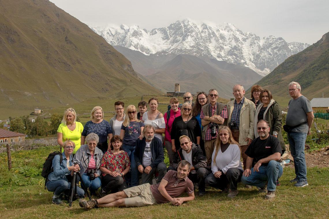 Uczestnicy fotowyprawy do Gruzji i Armenii 2018