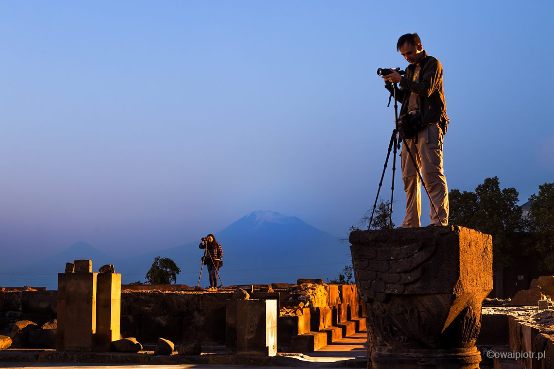 Zvartnost, warsztaty fotograficzne w Armenii