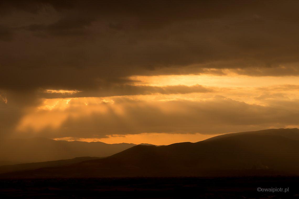 Wschód słońca, Armenia, warsztaty fotograficzne