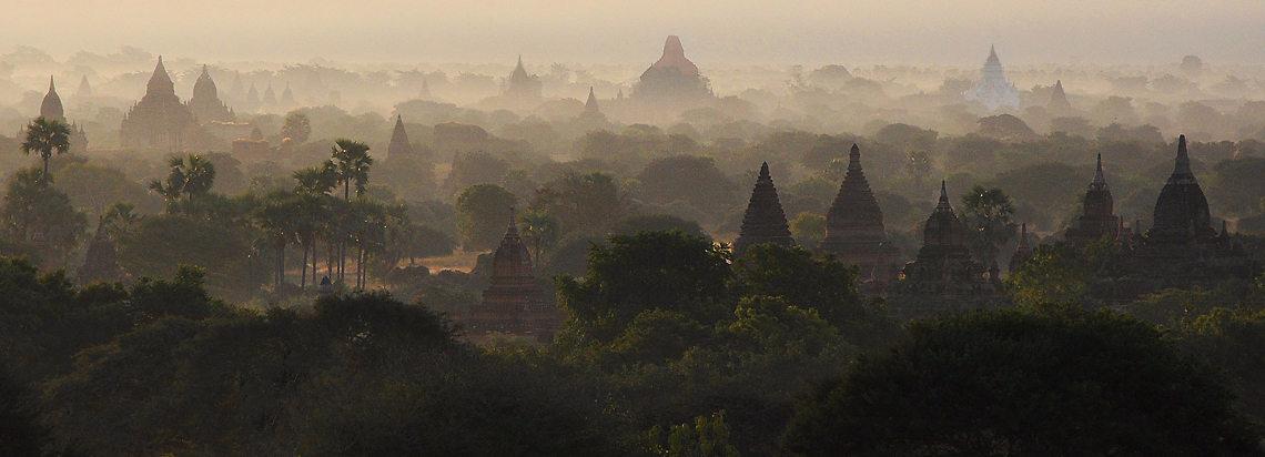 Świątynie we mgle, Birma, fot. Ula Kupińska, fotowyprawa do Birmy