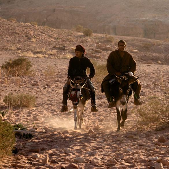 Jeźdźcy pustyni, Jordania