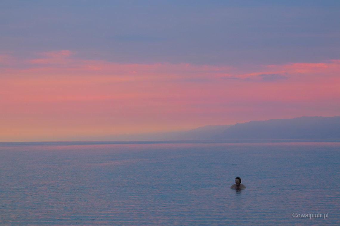 Kąpiel w Morzu Martwym, Jordania