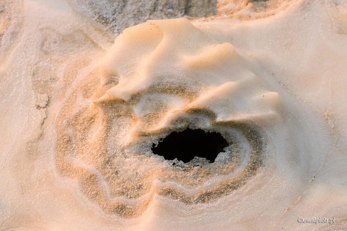 Sól z dziurką, Morze Martwe, Jordania