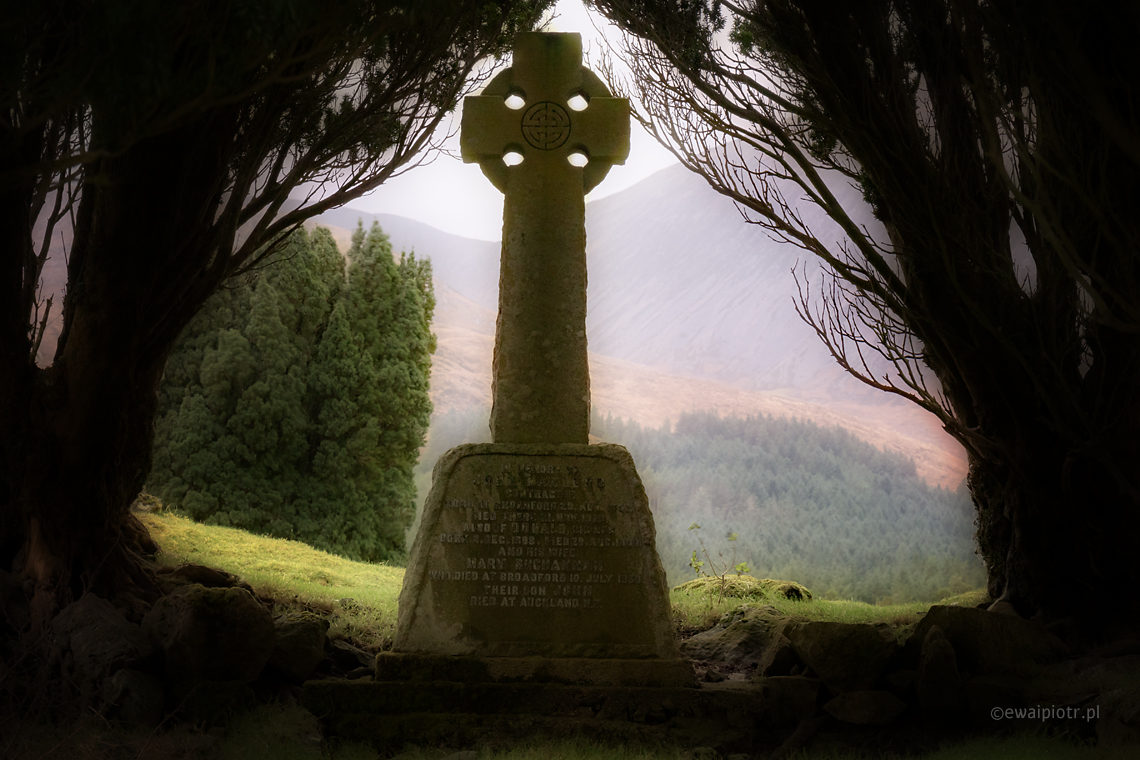 Stary cmentarz ze Skye, Szkocja