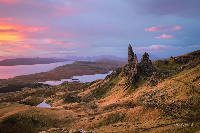 Old Man of Storr, Szkocja, Skye