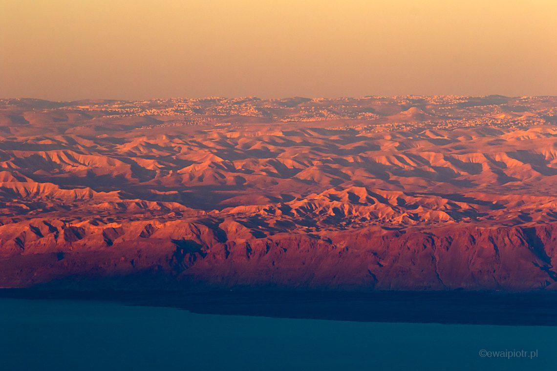 Z góry Nebo o świcie, Jordania