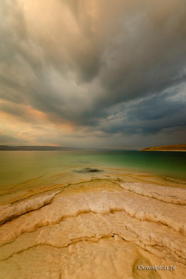 Burza się zbliża, Morze Martwe, Jordania