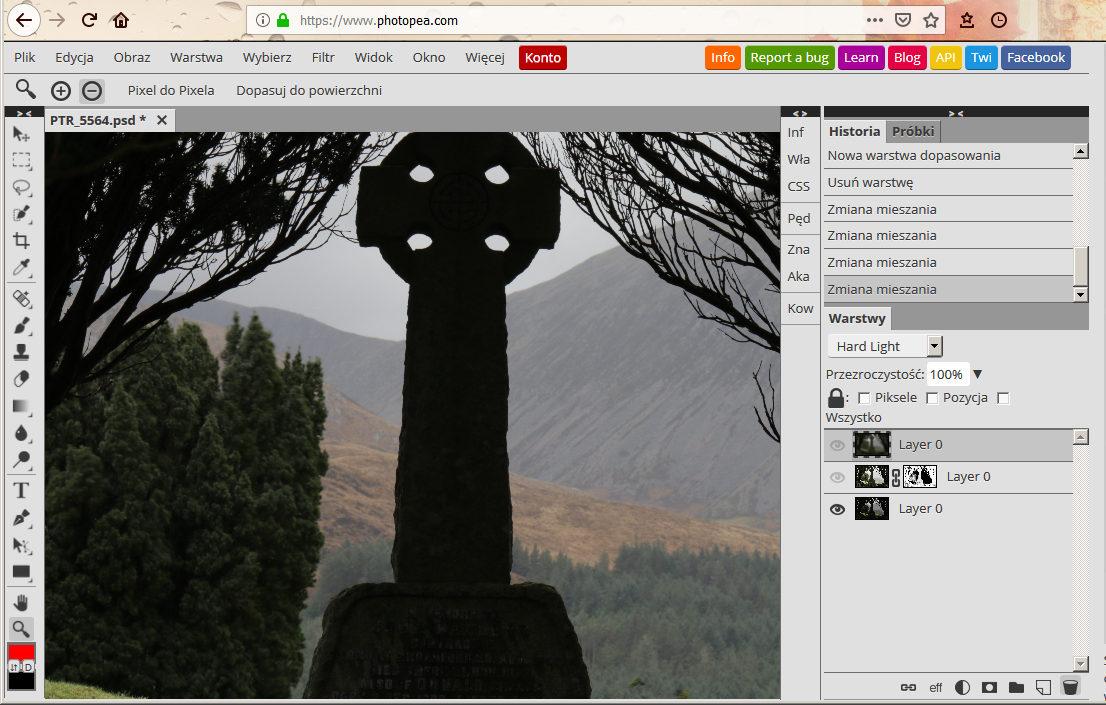 Photopea, czyli darmowy Photoshop w przeglądarce