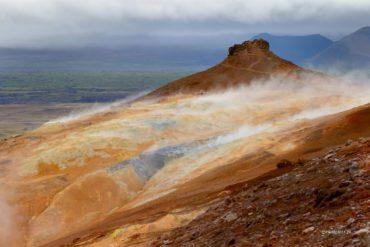 Dymy geotermalne, Islandia, Namafjall