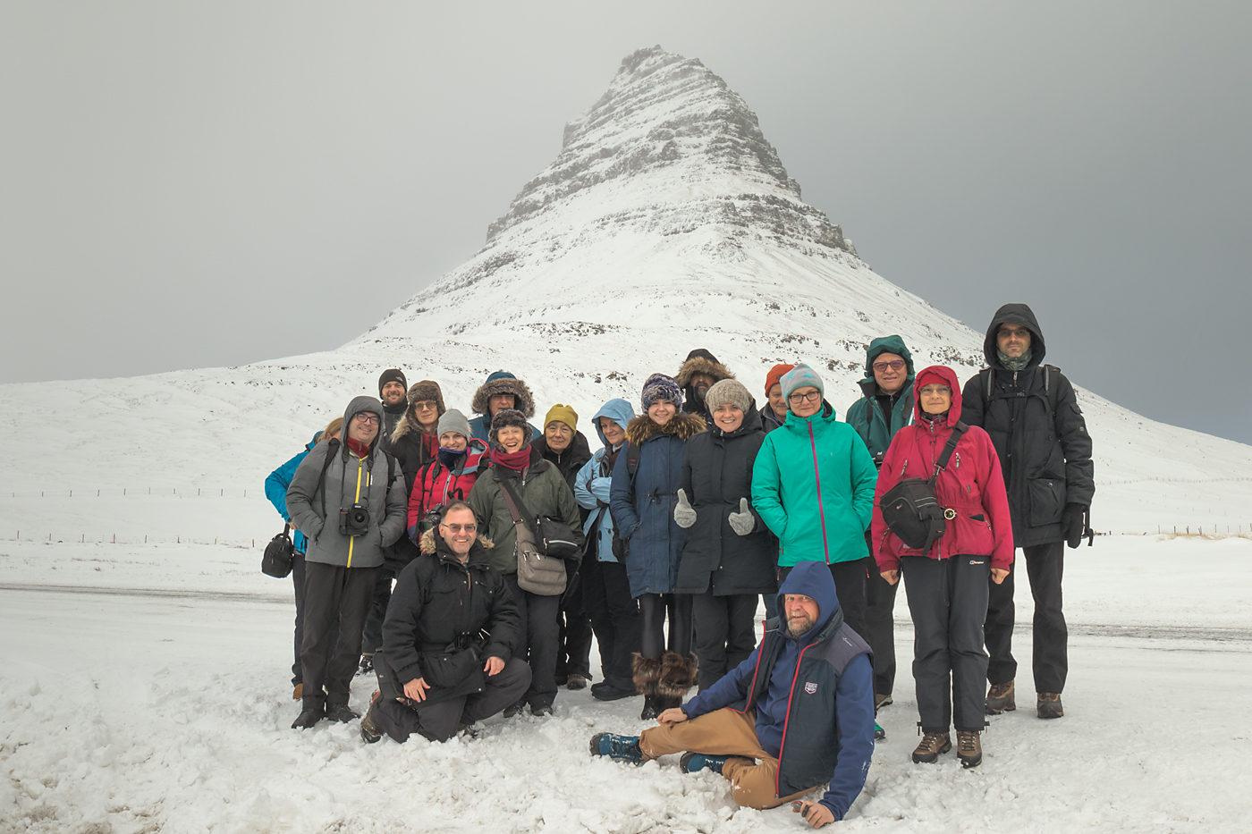 Uczestnicy fotowyprawy Islandia Zimą 2019