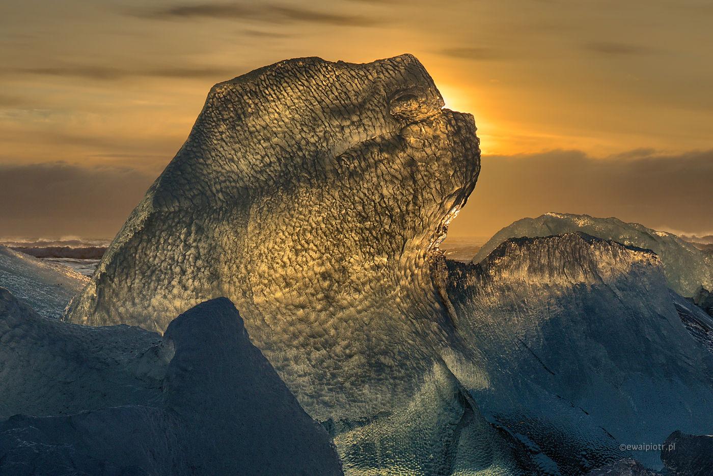 Zimą budzą się potwory, Jokulsarlon, Islandia