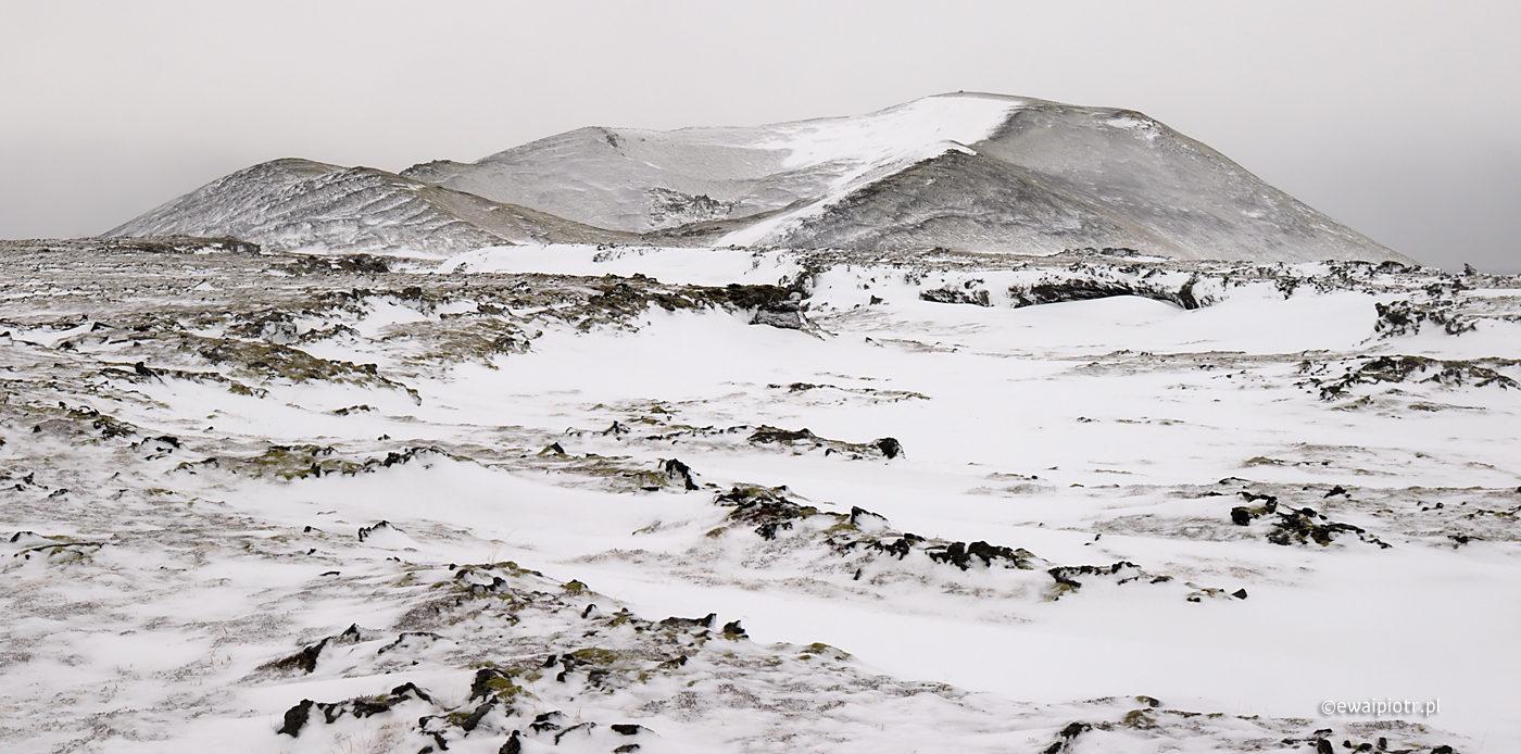 Islandzki drzeworyt zimowy