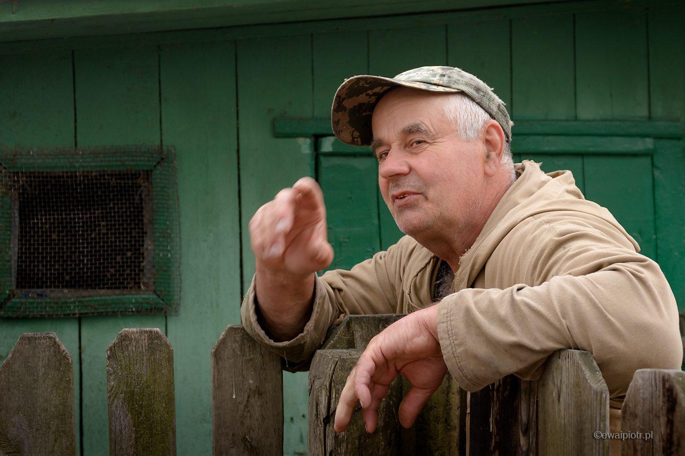Wasilij, ostatni mieszkaniec wsi Teremtsi, Czarnobyl