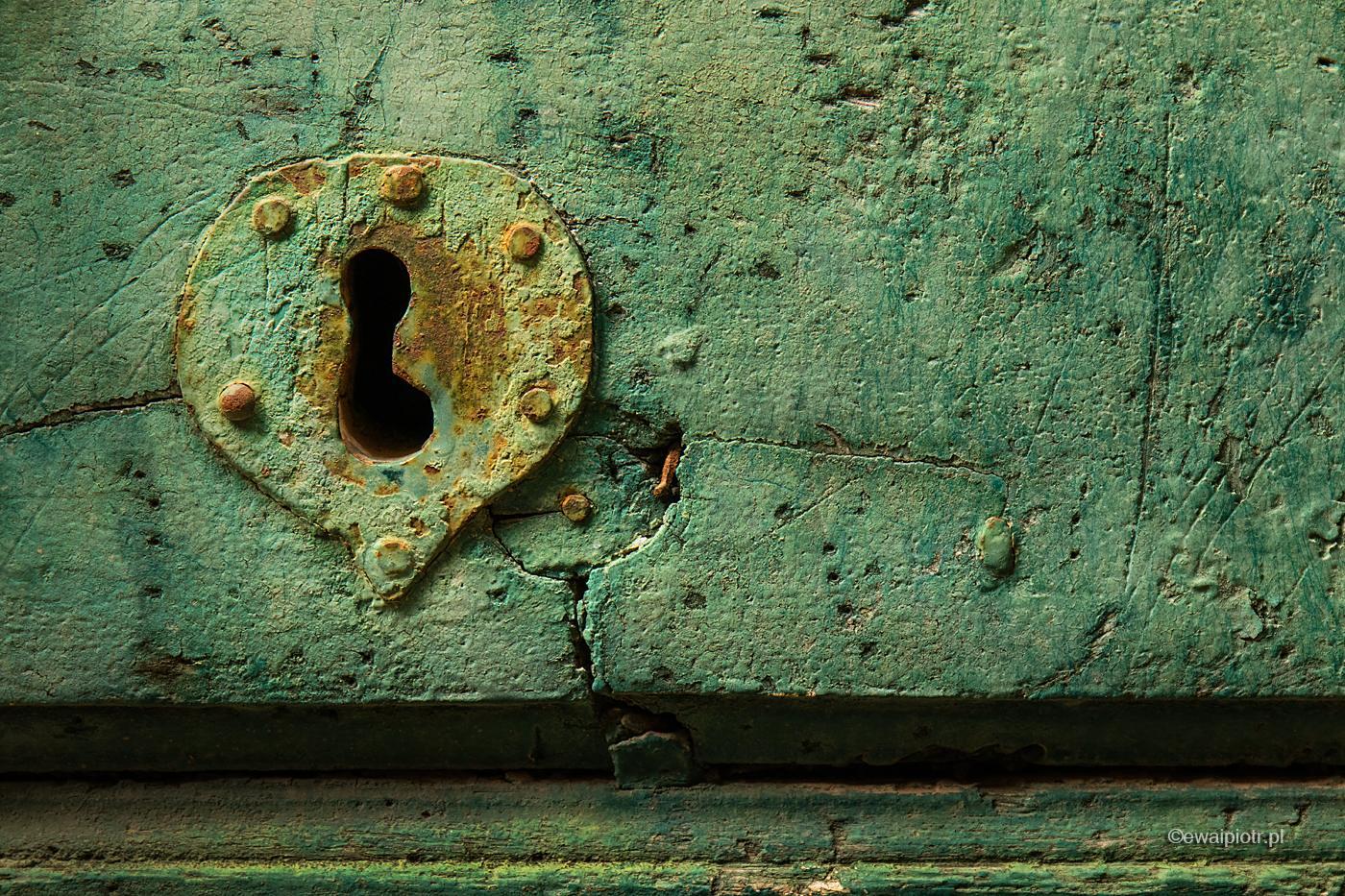 Zamek w zielonych drzwiach, Pitigliano, Toskania