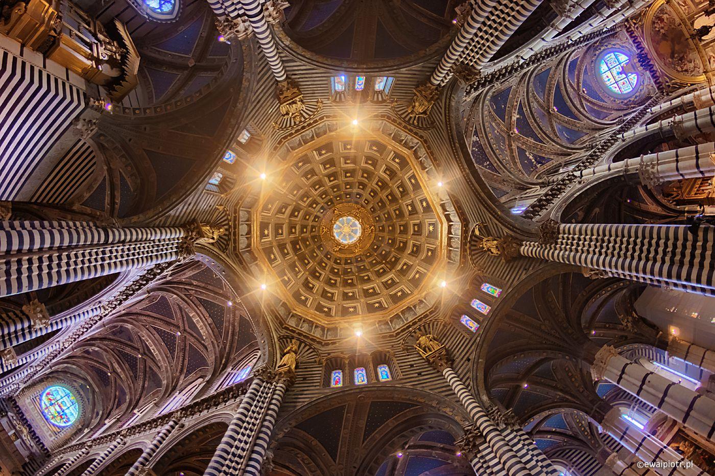 HDR z Katedry w Sienie, Toskania