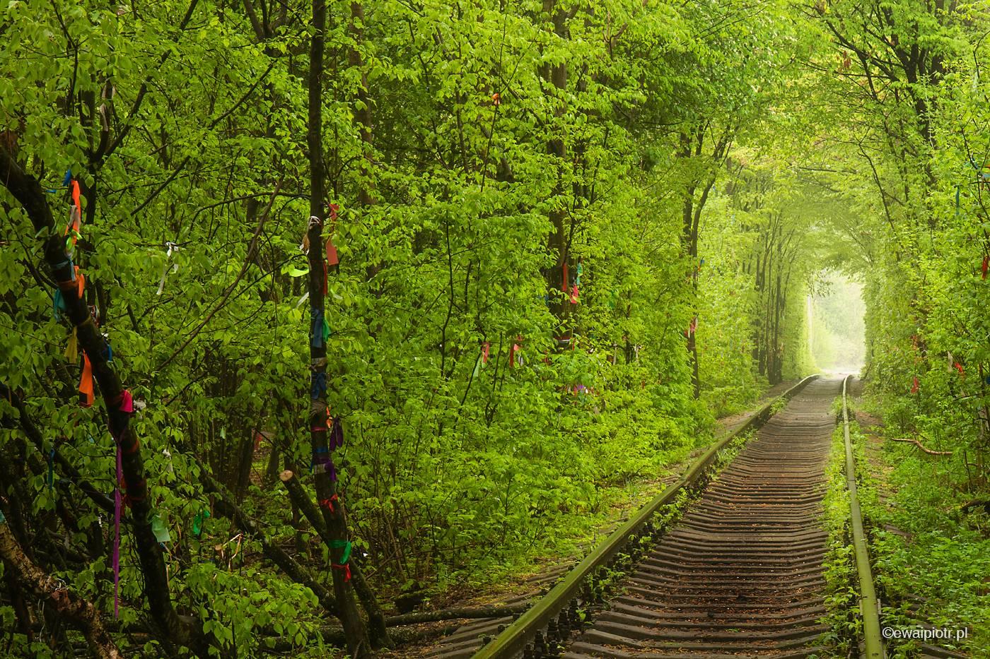 Tunel Miłości, Ukraina