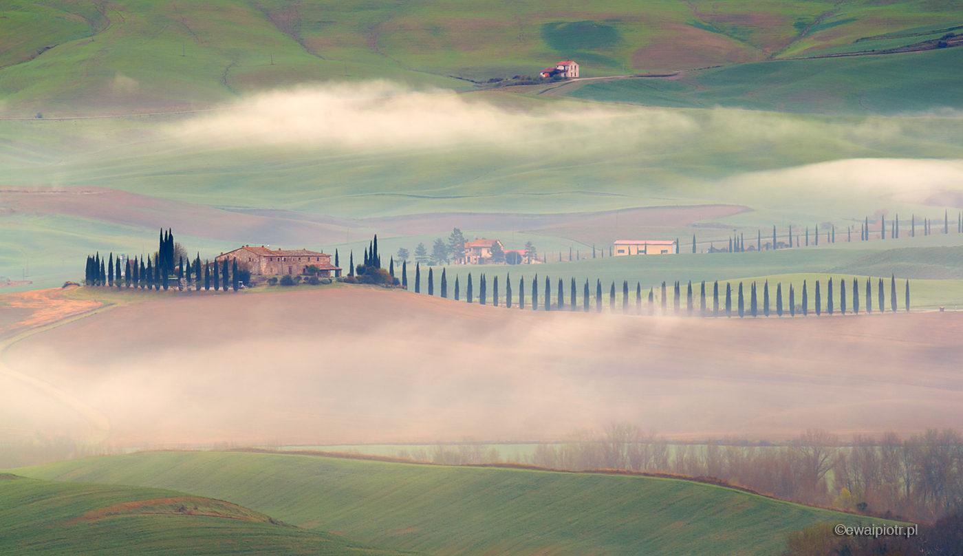 Willa we mgle, Toskania
