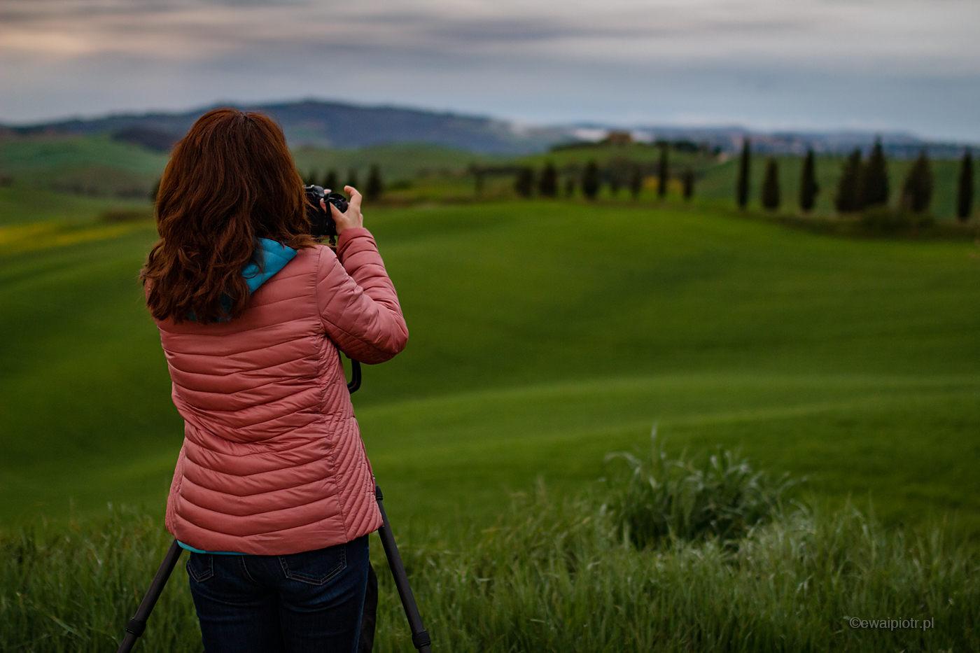 Szukając kadru, Toskania