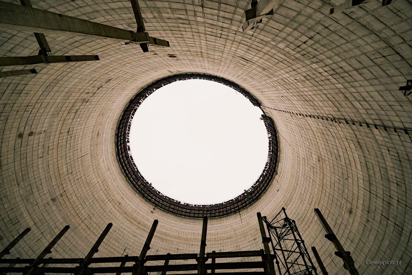 Chłodnia kominowa, reaktor jądrowy Czarnobyl