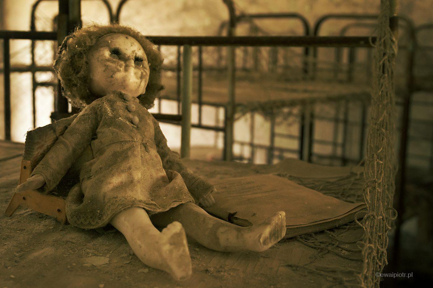Porzucona lalka, przedszkole w Prypeci, Czarnobyl