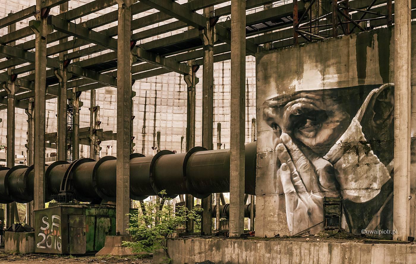 Mural w Strefie Wykluczenia, Czarnobyl