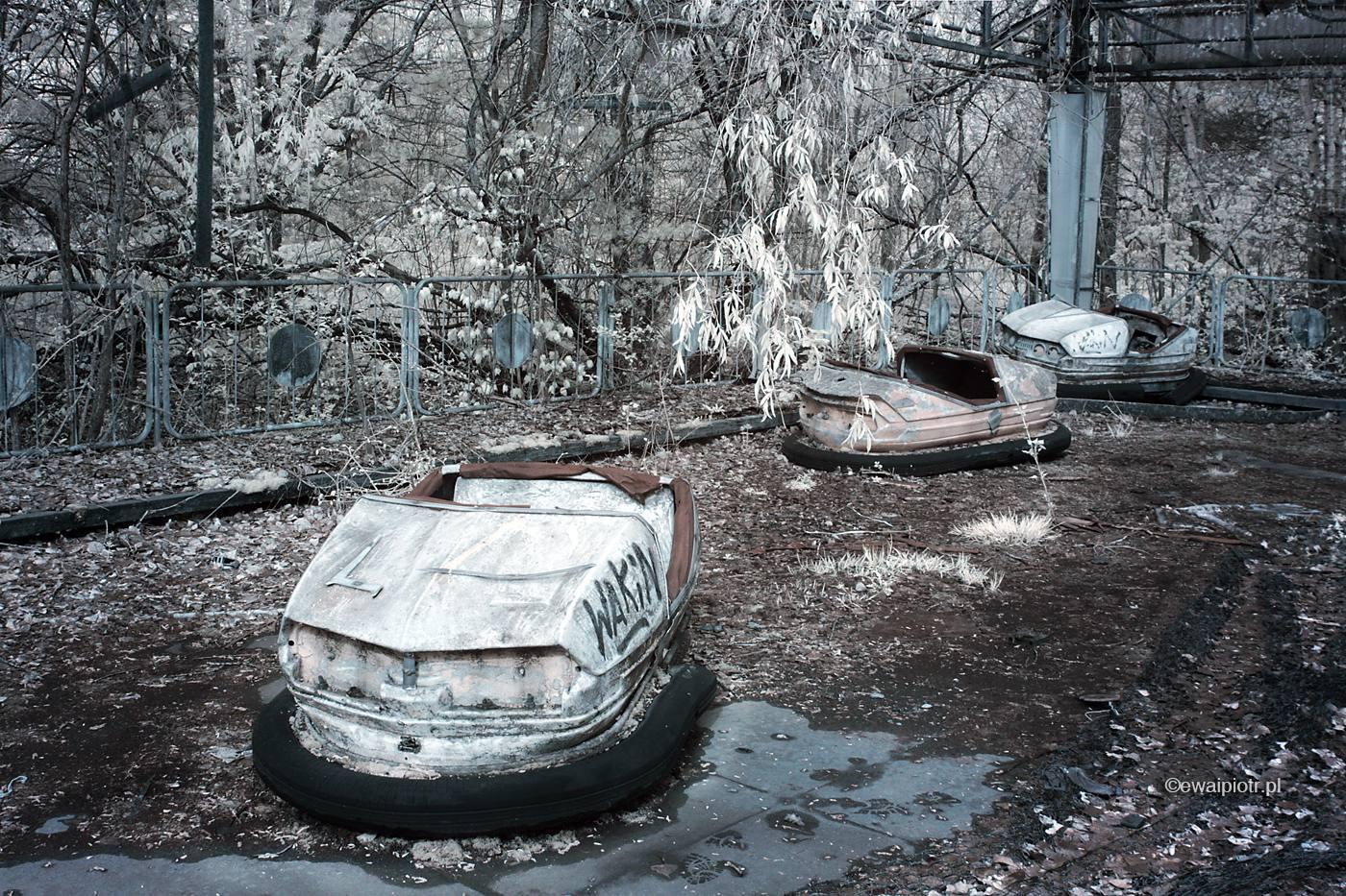 Wesołe miasteczko, Czarnobyl w podczerwieni