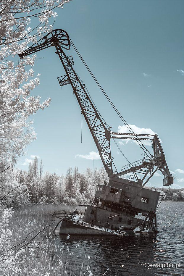 W porcie Prypeć, Czarnobyl w podczerwieni