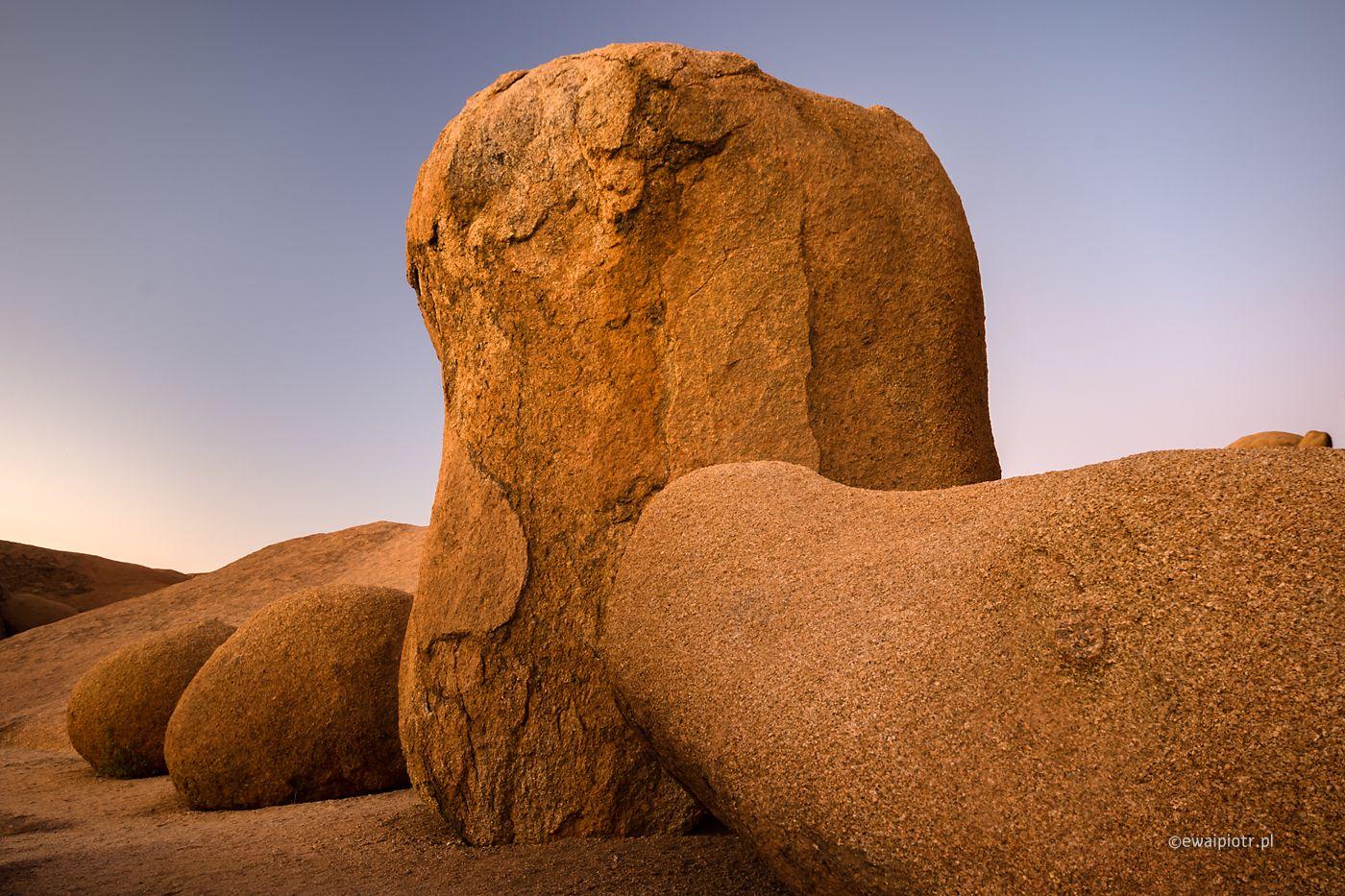 Nie tylko Spitzkoppe, Namibia