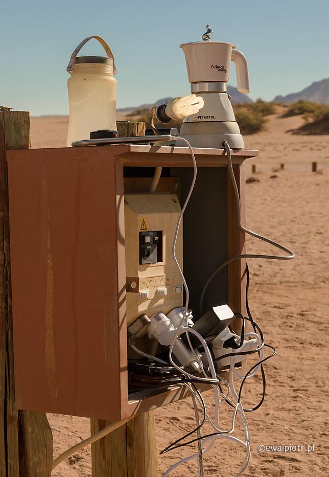 Stacja wysokich energii, Namibia