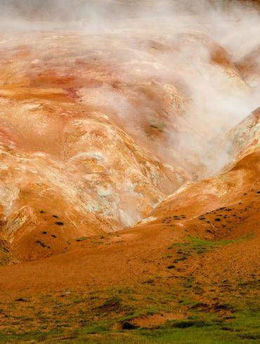 Kolory Namafjall, Islandia