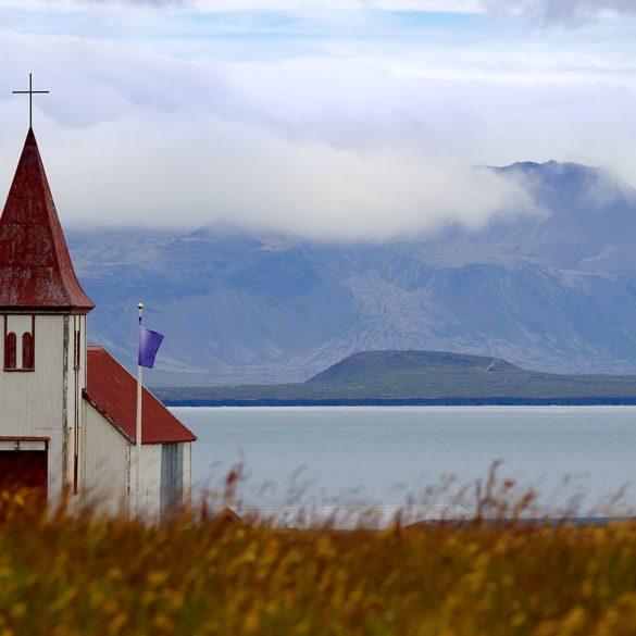Kościół w Hellnar, Islandia