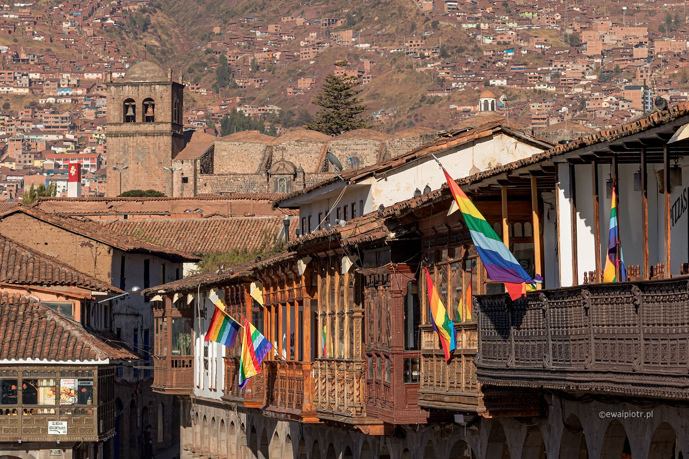 Święto narodowe w Cuzco, Peru