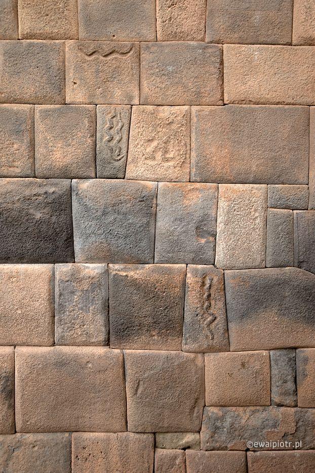 Mozaika Kamienny mur Inków, Peru
