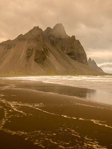 Vestrahorn, Islandia, warsztaty Photoshopa