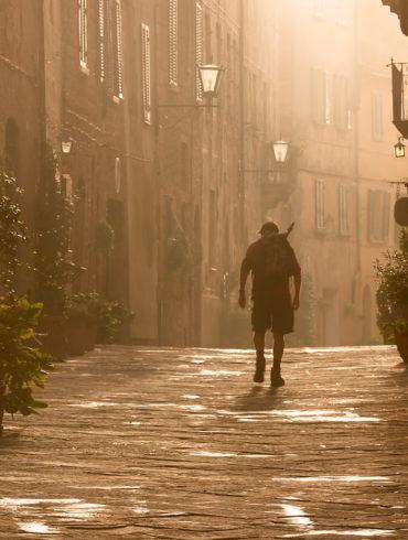 Wiedźmin z Pienzy, Toskania