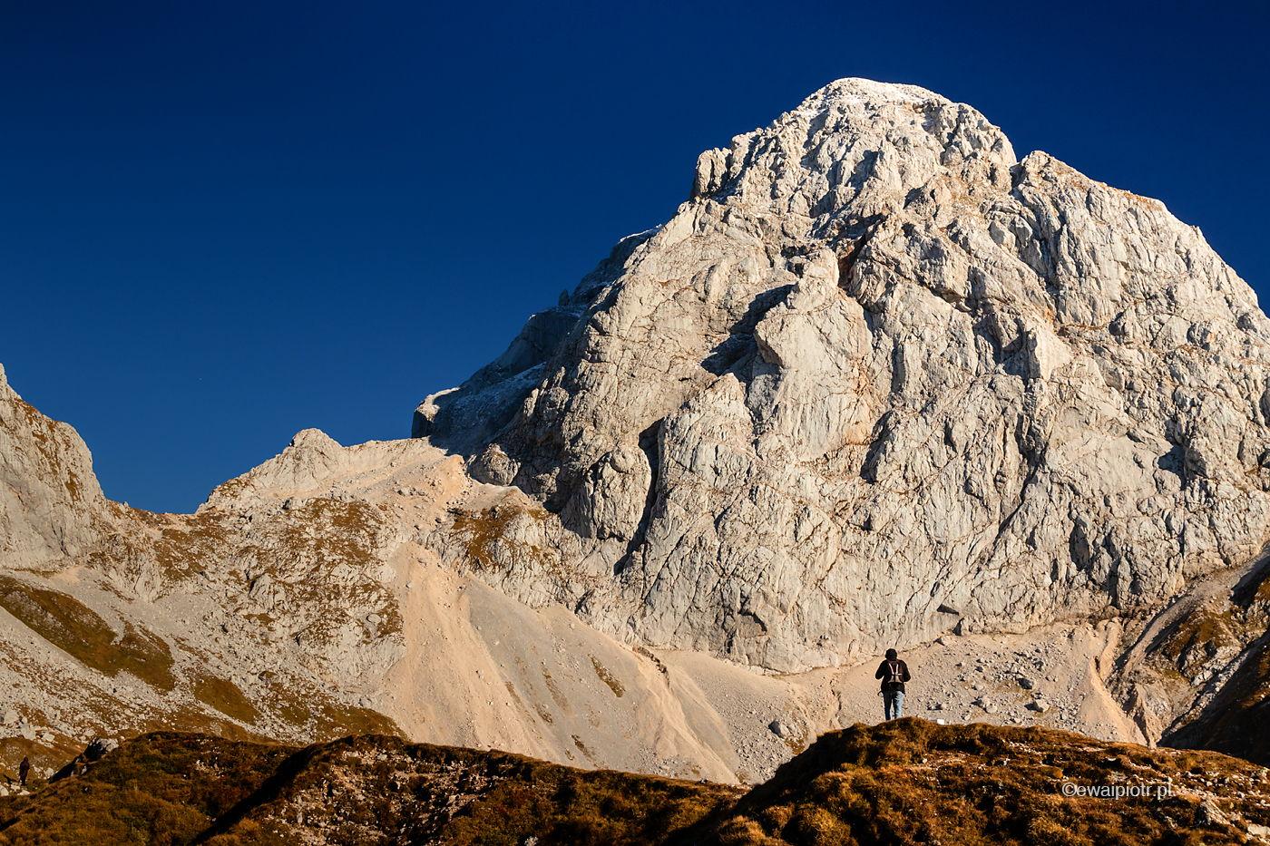 Fotograf w górach, Słowenia