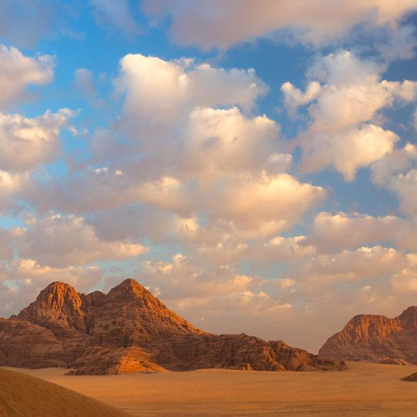 Niebo nad Wadi Rum, Jordania