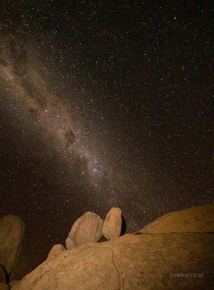 Skały i gwiazdy, Namibia, Spitzkoppe, fotowyprawa