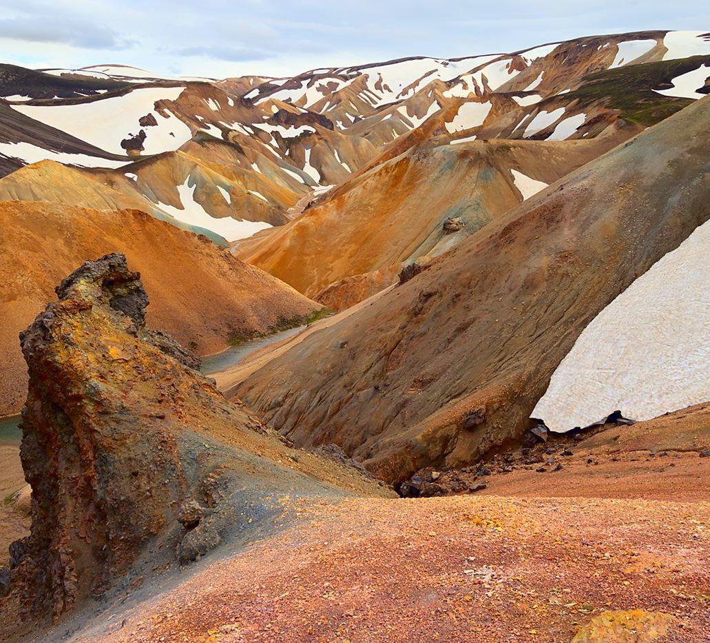 Landmannalaugar, Islandia, edycja w trybie LAB
