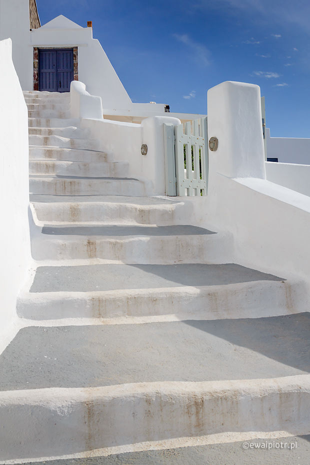 Schody do nieba, Santorini