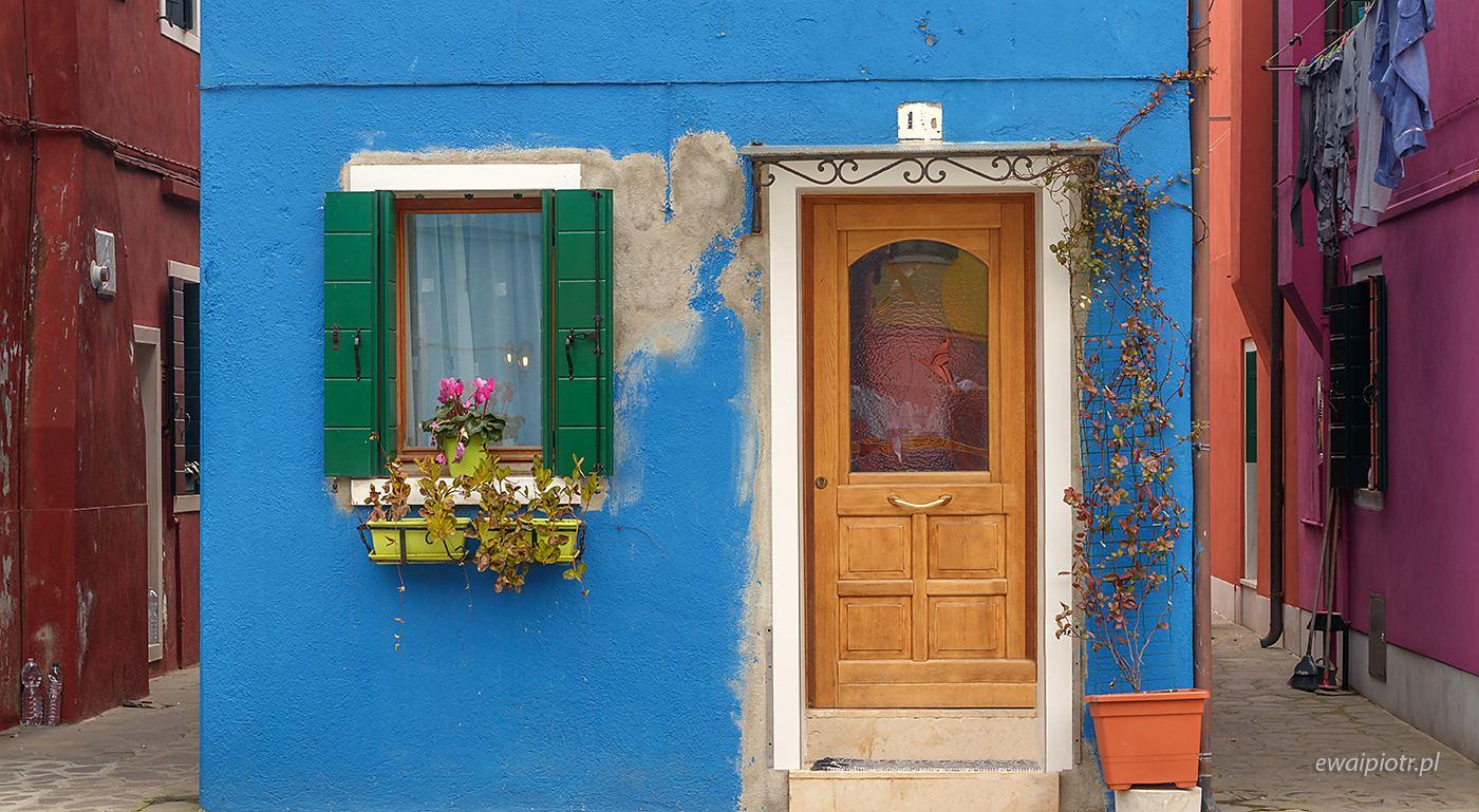 Kolorowe domki Burano, Wenecja
