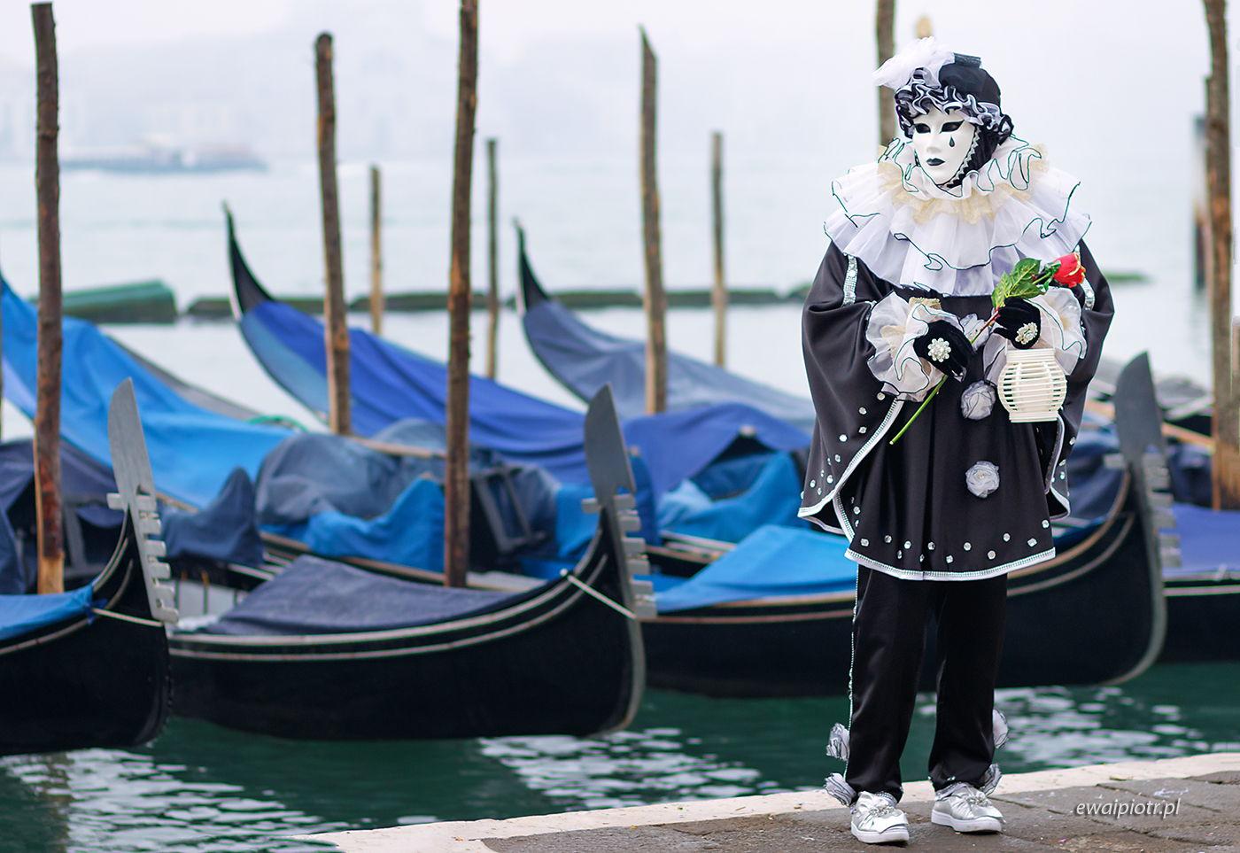 Mim i gondole, Wenecja, wyprawa fotograficzna