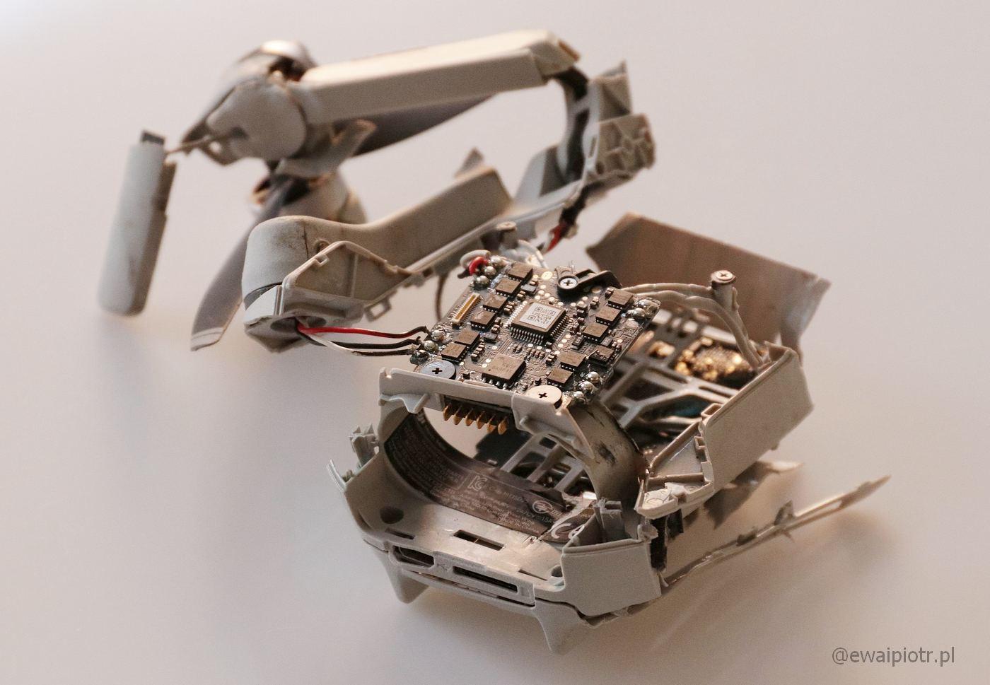 Rozbity Mavic Mini - dlaczego warto ubezpieczyć drona